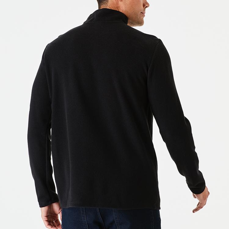 Top Quality Quarter Zip Comfortable Cotton Training Sweatshirt For Men
