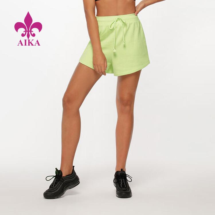 https://www.aikasportswear.com/wholesale-oem-women-sweat-shorts-custom-gym-fitness-workout-cotton-shorts-product/